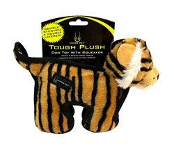 "Hyper Pet™ Tough Plush 10"" Tiger Dog Toy W/ 2 Squeakers - 3 Pack $27.81 ($9.27 each)"