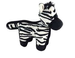 "Hyper Pet™ 10"" Tough Plush Zebra Toy W/ TWO SQUEAKERS 12 PACK $102.84 ($8.57 EA)"