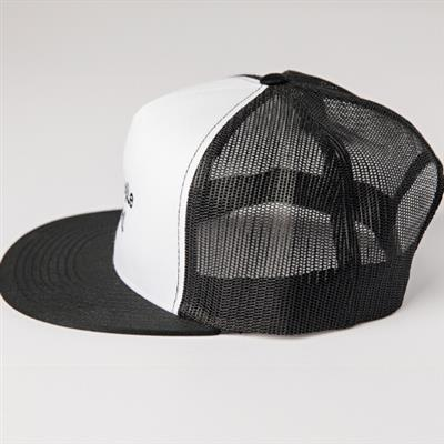 Trucker Hat, White/Black