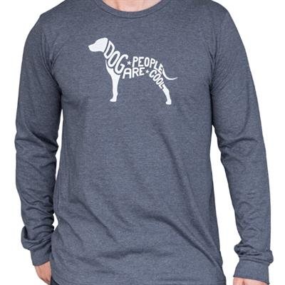 DPAC Dog Blue, Long Sleeve, Unisex