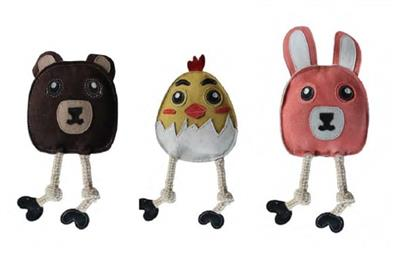 Aussie Naturals® Flattie Bunny Toy