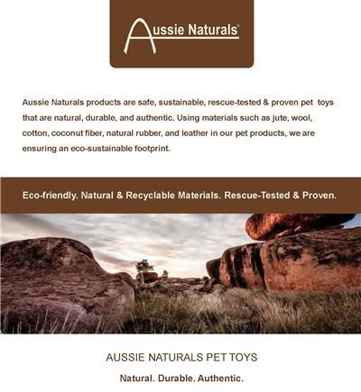 Aussie Naturals® Flattie Chicken Toy