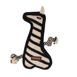 Aussie Naturals® Tuff Mutts Zebra Toy