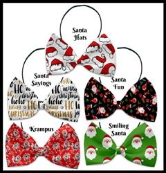Santa Collection Pet Ties