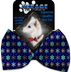 Star of Davids and Snowflakes Pet Ties