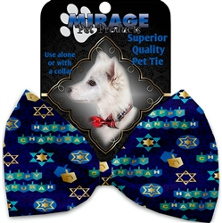 Chanukah Bliss Pet Ties