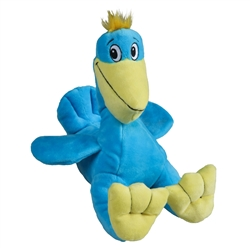 Tender-Tuffs Marine - Sitting Pelican - Large Breed Toy