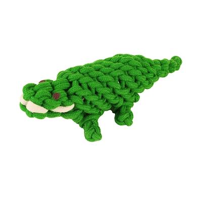 """Aussie Naturals® Ropie Gator Dog Toy (10"""")"""
