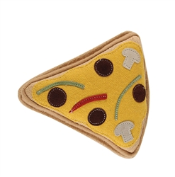 Aussie Naturals® Brunchies Pizza Toy ALL NATURAL TOY FILLED WITH CRUNCHY COCONUT FIBER