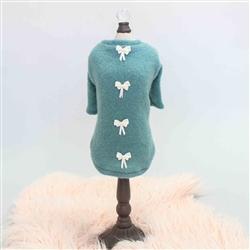 Dainty Bow Tee Sweater