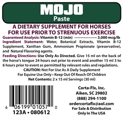 Corta-Flx MoJo Paste 30 ml Equine Supplement for Horses