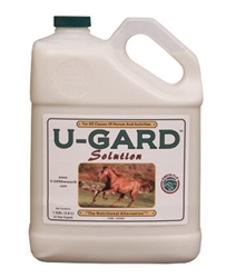 Corta-Flx U-Gard Solution Gallon Equine Stomache Supplement for Horses