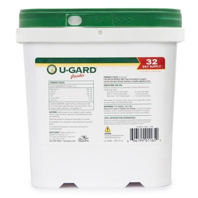 Corta-Flx U-Gard Powder Equine Stomache Supplement for Horses