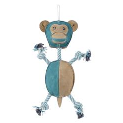 """Aussie Naturals® Wiggly Monkey Dog Toy - Available in Small 9"""" & Large 13"""""""