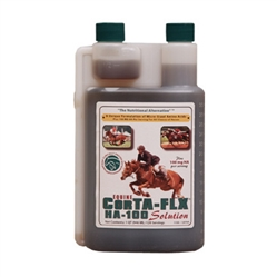 Corta-Flx HA 100 Solution Quart Equine Joint Flex Supplement for Horses