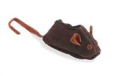 Aussie Naturals® Leather Mouse Toy