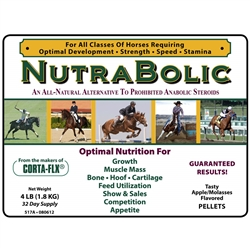 Corta-Flx Nutrabolic - Equine Anabolic Steroid Alternative for Horses