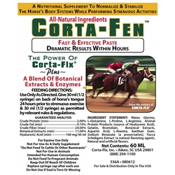 Corta-Fen Paste 60 ml Equine Supplement for Horses