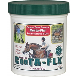 Corta-Flx Crumbles 300 gm Joint Flex Supplement for Equine and Canine Premium