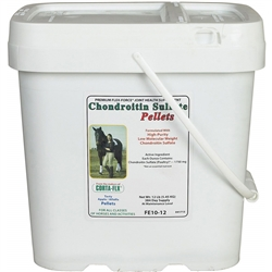 Corta Flx Flex-Force Chondroitin Sulfate Pellets 12 lb Equine Joint Supplement for Horses