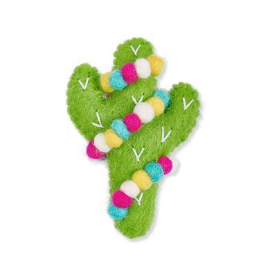Jolly Cactus Felt Cat Toy