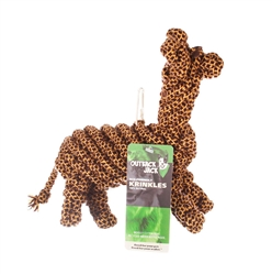 Outback Jack® Krinkles Ropie Giraffe Toy