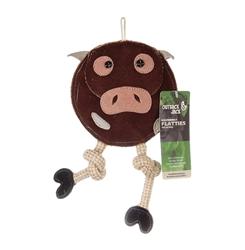 Outback Jack® Flattie Cow Toy
