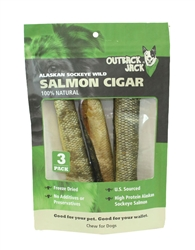Outback Jack® Sockeye Salmon Cigar Case of 24 $72.00 (3 pack bag $3.00 EA)