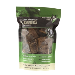 Outback Jack® Water Buffalo Bully Lung 4 oz.