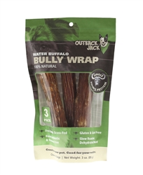 Outback Jack® Water Buffalo Bully Wrap - 3 pack
