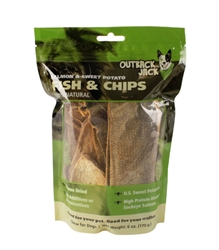 Outback Jack® Salmon Fish & Chips 6 oz.