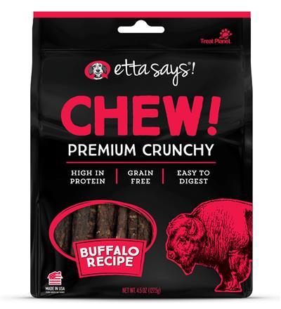 Etta Says Chew! Premium Crunchy Buffalo Chew, wt 4.5oz