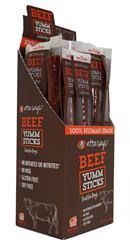Etta Says Beef Yumm Sticks - 24 per display box