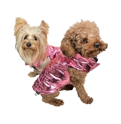 Gallactica Coat Metallic Pink