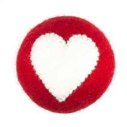 Wooly Wonkz Valentine Toy Heart - Dog Toy
