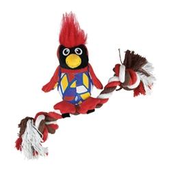 KONG® Knots Clingerz Cardinal Toy