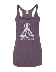 Tank: Dog is My Zen Women's cut