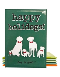 Happy Holidogs Magnet 3 Pack