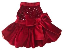 Red Velvet - Dress - Red