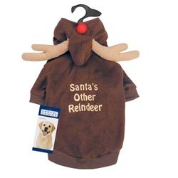 Casual Canine Reindeer Hoodie