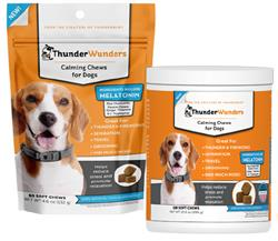 ThunderWunders Calming Soft Chews for Dogs