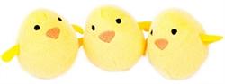 Zippy Paws - Zippy Miniz 3 Pack - Chicks, Delivers February 2019