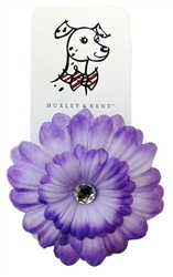 Huxley & Kent Silk Flower-Pansy Purple, Delivers February 2019