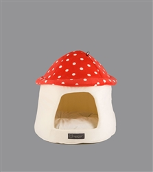 MUSHROOM SHAPE MICRO FLEES PET BED