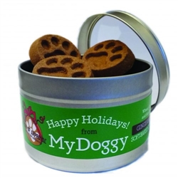 8 OZ HOLIDAY TIN - GINGERBREAD - SEASONAL