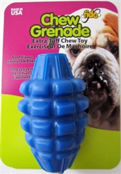 CHEW GRENADE, Beef Flavored, Large 5""