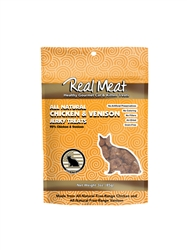 Chicken & Venison Cat Treats - 3oz