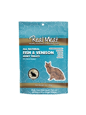 Fish & Venison Cat Treats - 3oz