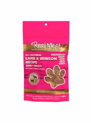 Lamb & Venison Dog Treats - 4oz