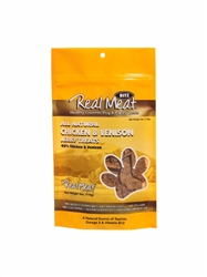 Chicken & Venison Dog Treats - 4oz